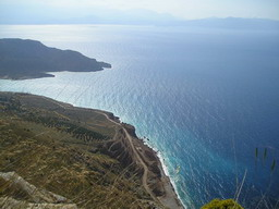 A view from a lay-by between Sitia and Agios Nicolaos